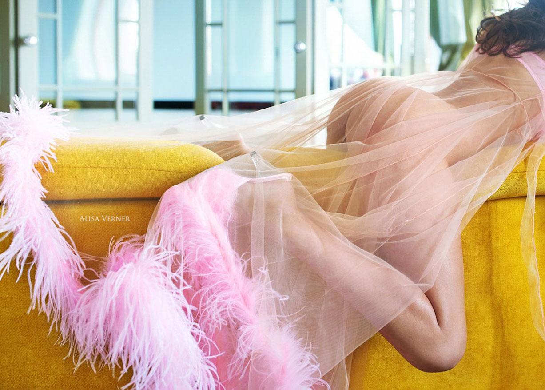 Любительница розового / Диана Берберашвили, фотограф Алиса Вернер / фото 05