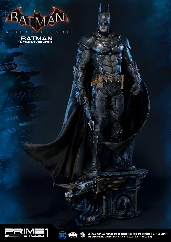 Batman : Arkham Knight - Batman Battle damage Vers. Statue (Prime 1 Studio) WvaEMHeu_o
