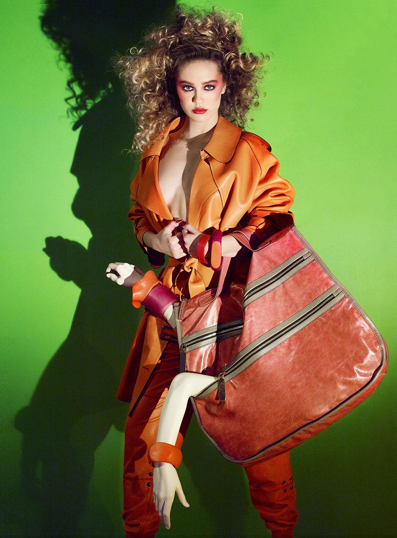 Делайла Белле и модные манекены, фотограф Энрике Вега / фото 14