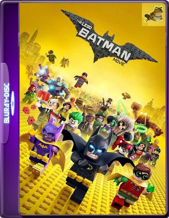 Lego Batman: La Película (2017) Brrip 1080p (60 FPS) Latino / Inglés