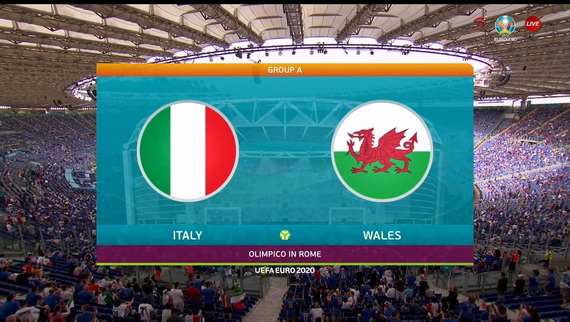 Full match: Italy vs Wales