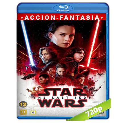 Star Wars Los Ultimos Jedi [BDRip m720p][Trial Lat/Cast/Ing][VS][Fantastico](2017)