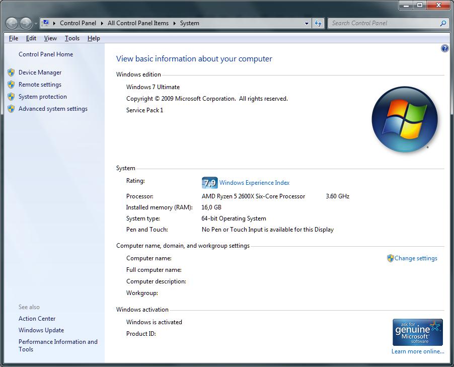 Using Windows 7 on Ryzen Systems - Page 33 - Overclock net