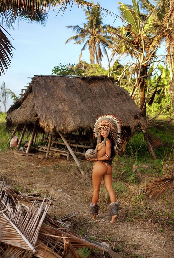 сексуальная индейская жена / фото 04