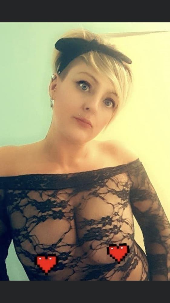 Short hair blonde porn-6392