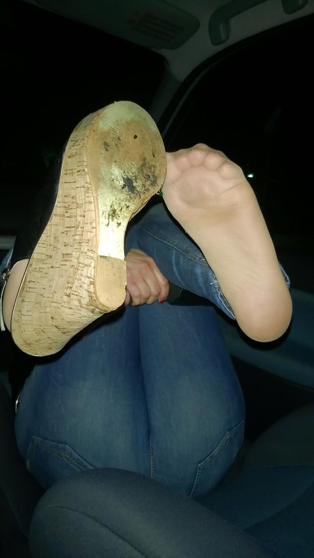 Lesbian foot fetish nylon-2541