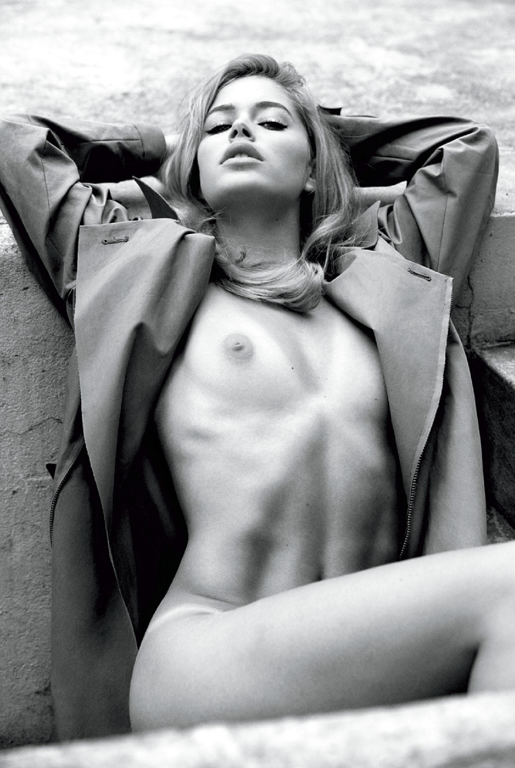 подборка фотографий сексуальных голых девушек - Doutzen Kroes