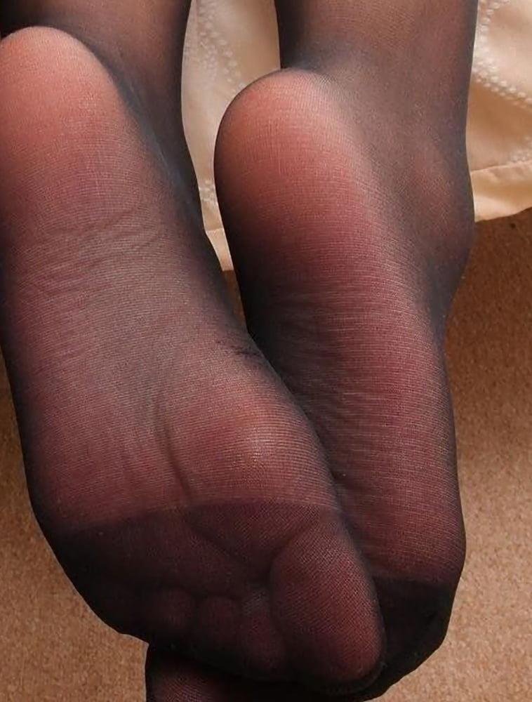 Nylon feet porn hd-4557