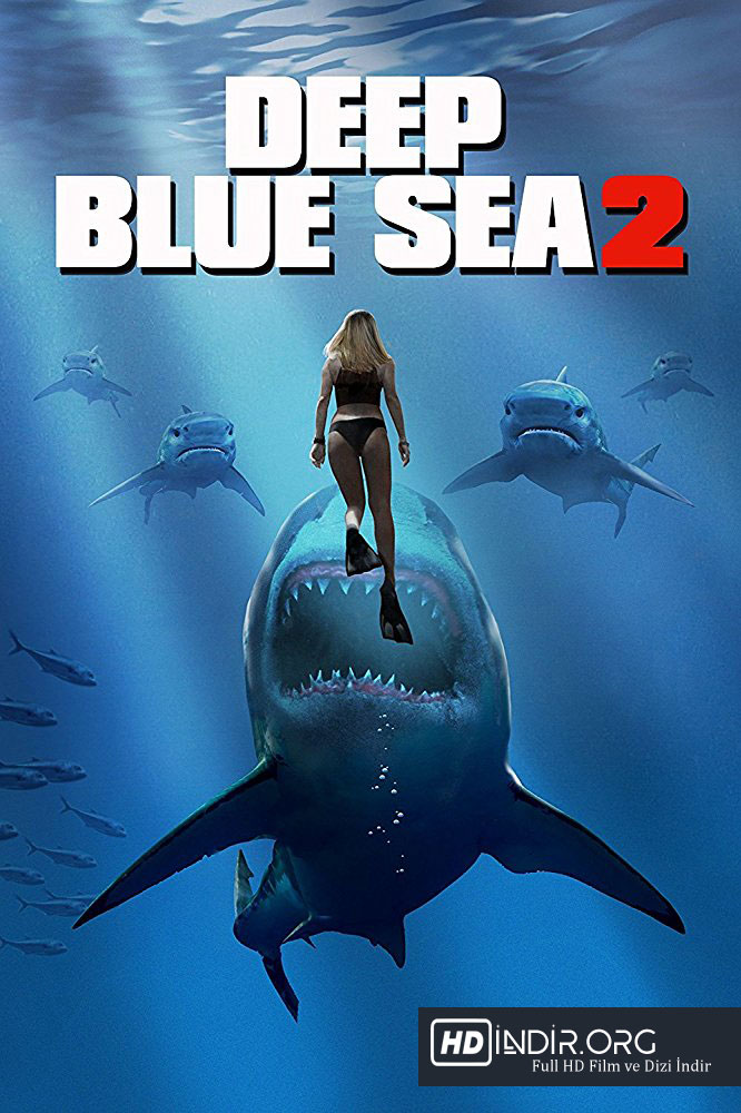 Mavi Korku 2 - Deep Blue Sea 2 indir (2018) m1080p DUAL Full HD