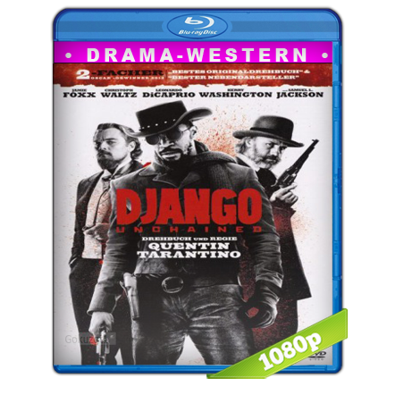Django Sin Cadenas (2012) BRRip Full 1080p Audio Trial Latino-Castellano-Ingles 5.1