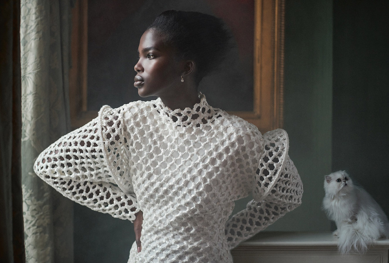 Pure of Heart / Aamito Lagum by Richard Phibbs / Harpers Bazaar UK april 2019