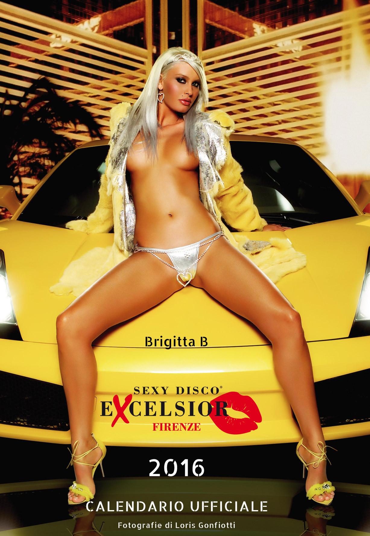 эротический календарь ночного клуба Sexy Disco Excelsior 2016 calendar - Brigitta