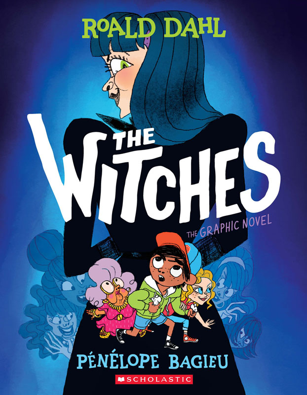 The Witches - The Graphic Novel (Scholastic 2020)