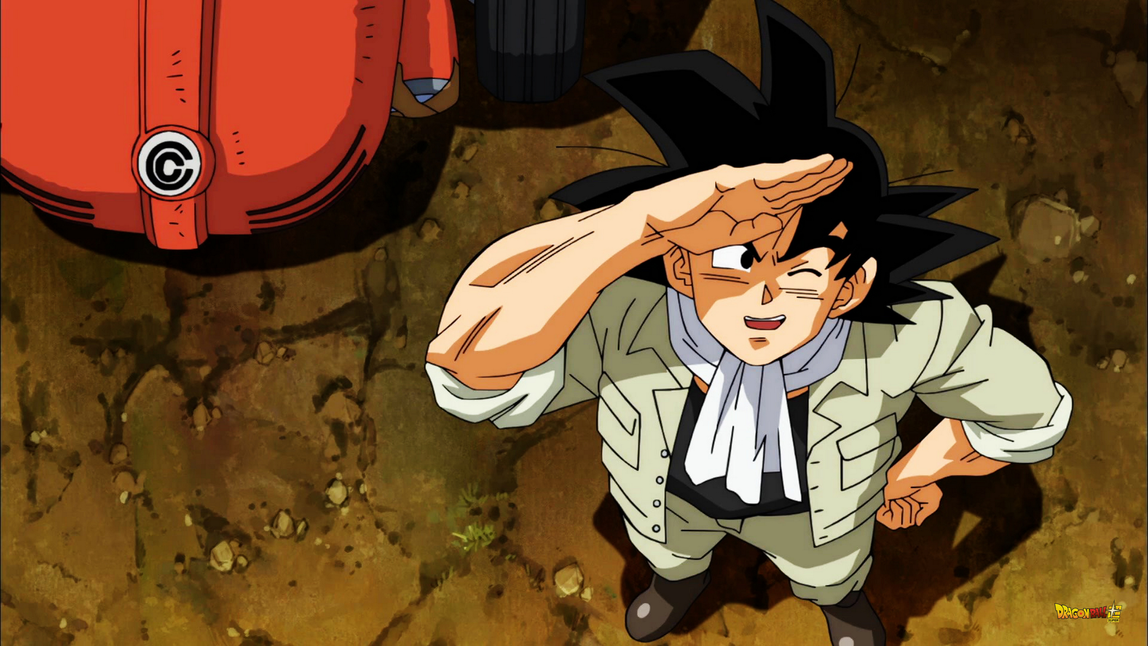 Dragon Ball Super Season 1 Episode 1 S01E01 4k uHD Wallpapers 08 Goku works in his radish field, but wants to go training and fighting.