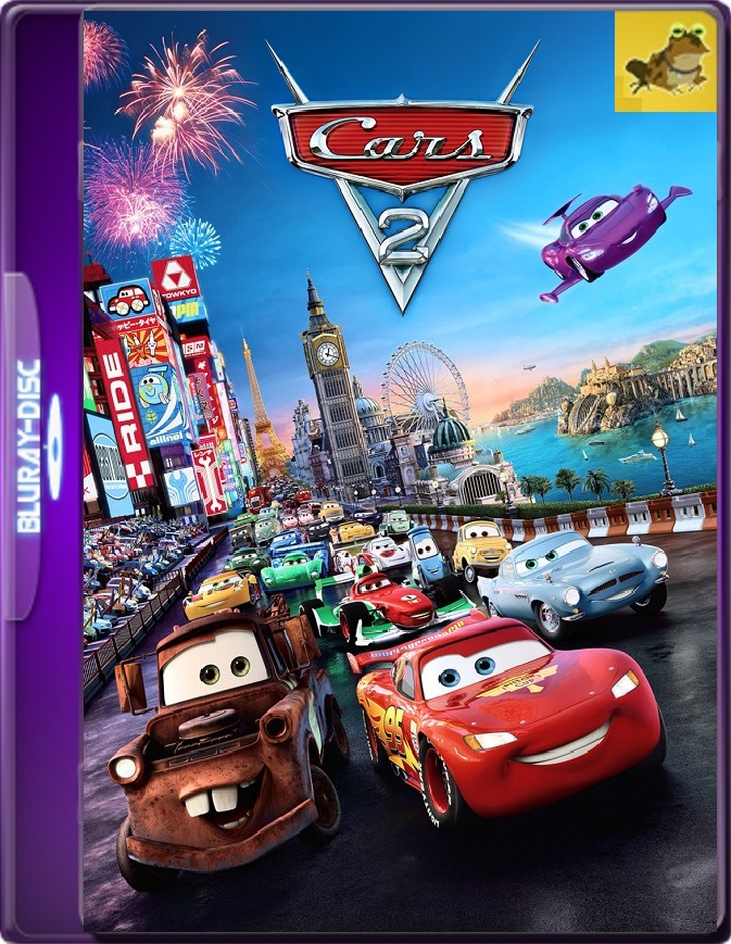 Cars 2 (2011) Brrip 1080p (60 FPS) Latino