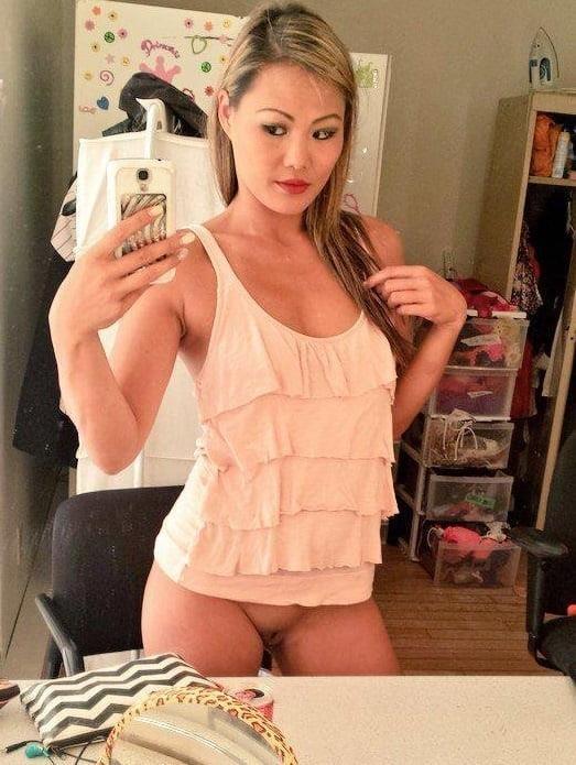 Nude asian girl selfie-7124