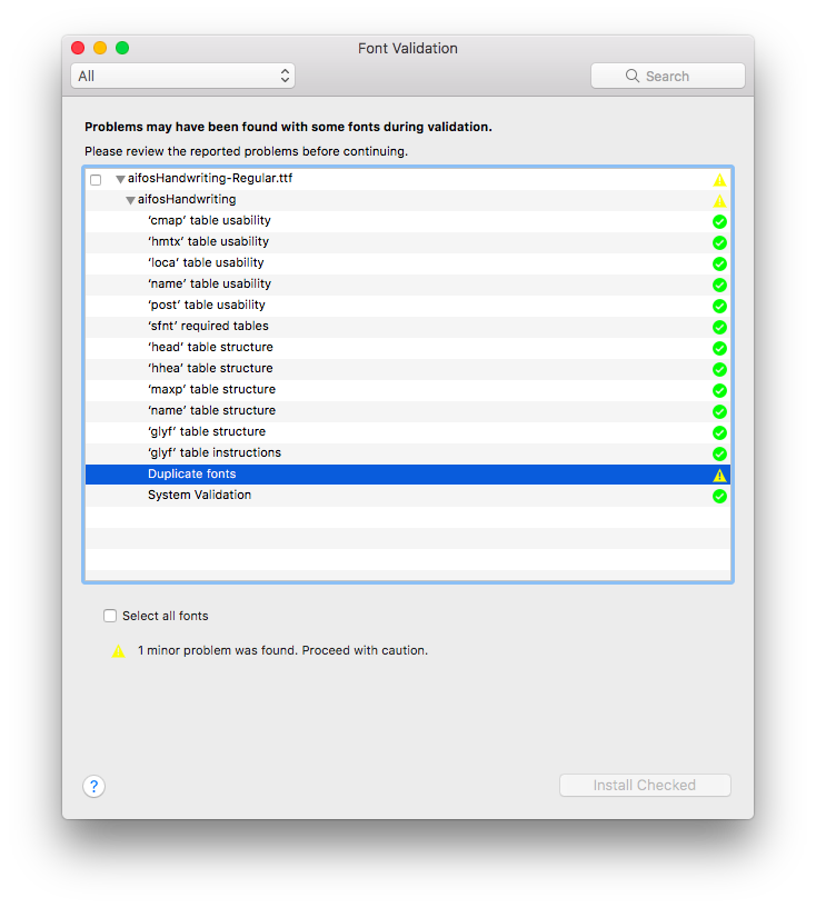 Tutorial – Hur man installerar typsnitt i Windows eller macOS