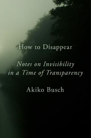 How to Disappear  Notes on Invisibility in a Time of Transparency by Akiko Busch