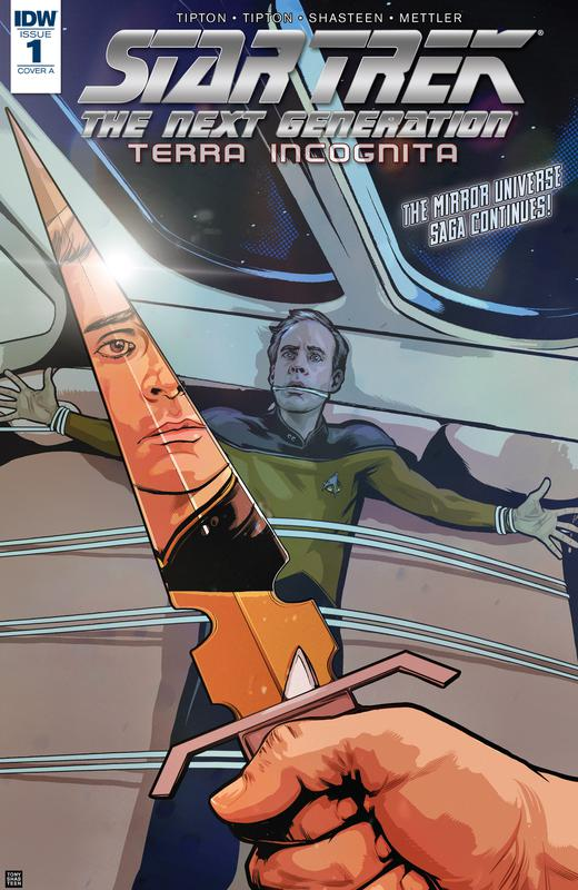 Star Trek - The Next Generation - Terra Incognita #1-3 (2018)