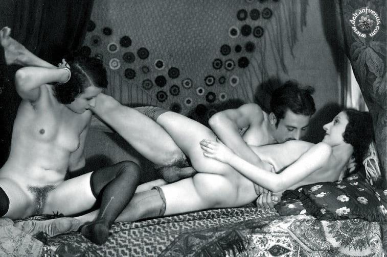 Vintage hairy nude-4776