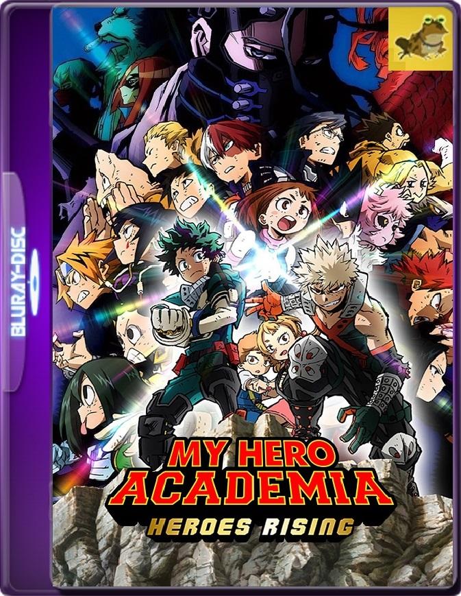 My Hero Academia: Heroes Rising (2019) Brrip 1080p (60 FPS) Japonés Subtitulado