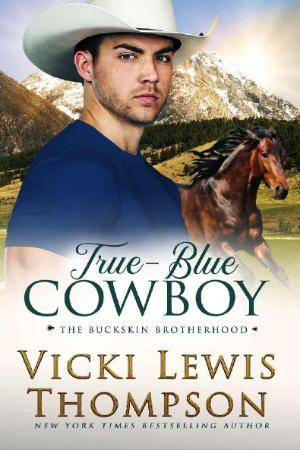 True Blue Cowboy The Buckskin Vicki Lewis Thompson