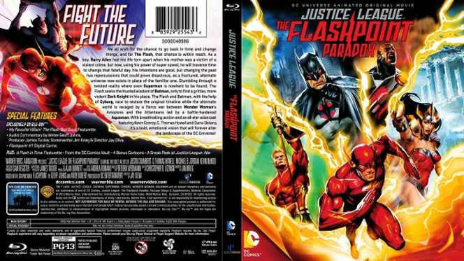 Liga De La Justicia Paradoja Del Tiempo (2013) BRRip Full 1080p Audio Dual Latino-Ingles