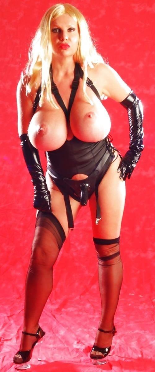 Latex big tits pics-2847