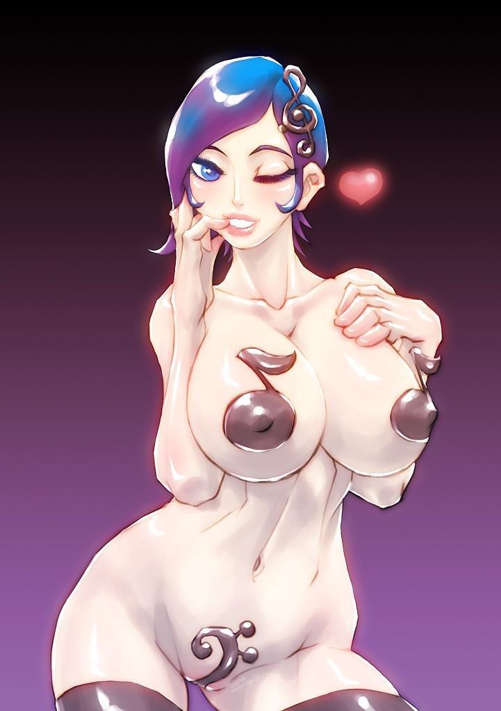 Anime big boobs nude-4979