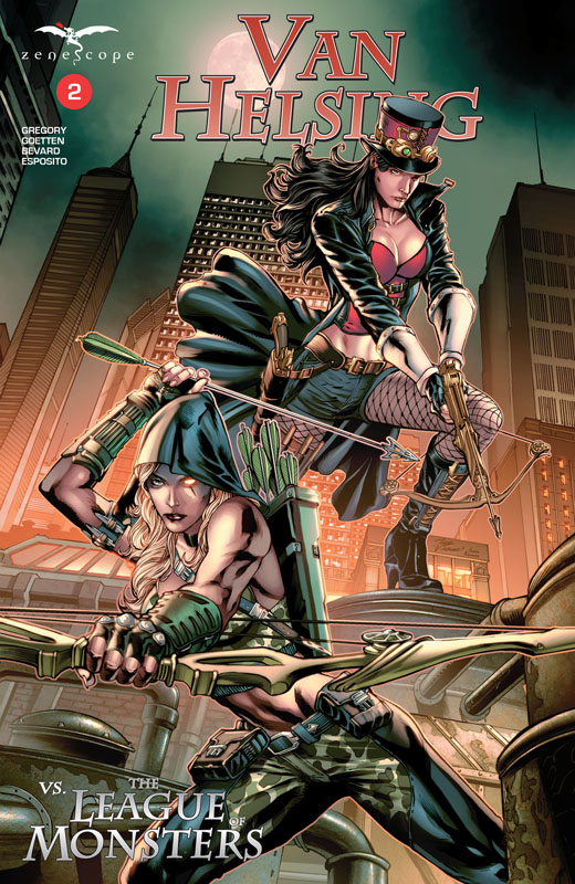 Van Helsing vs. the League of Monsters #1-5 (2020)