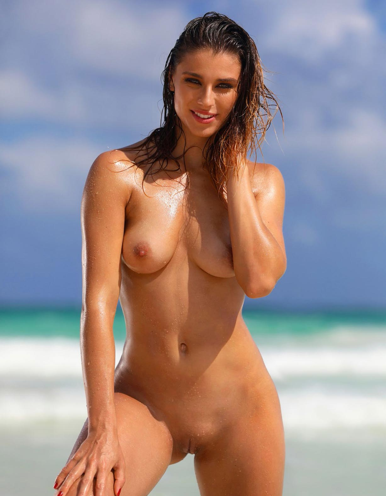 Стелла Тиана Стегманн в спецвыпуске журнала Playboy -Девушки летом- / фото 03