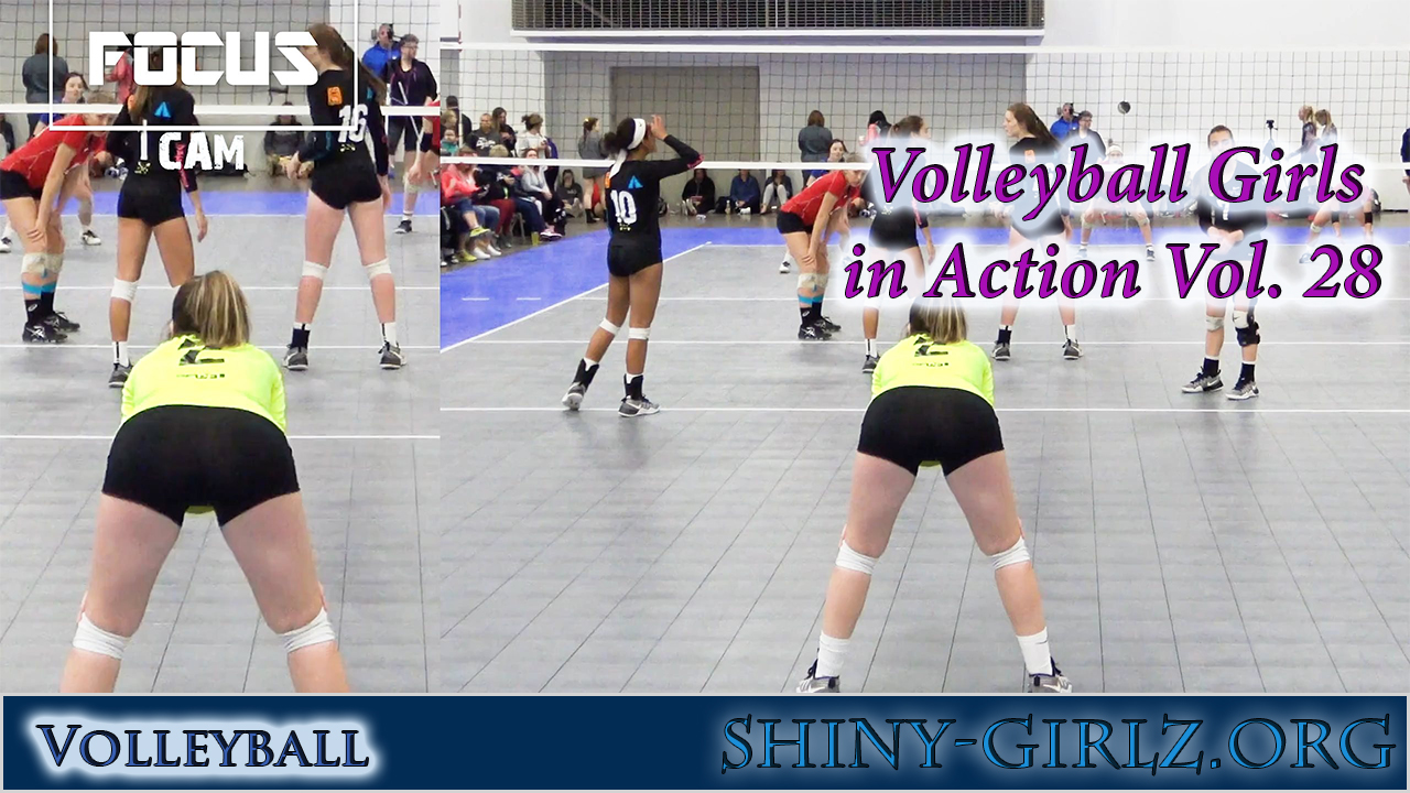Volleyball Girls in Action Vol. 28
