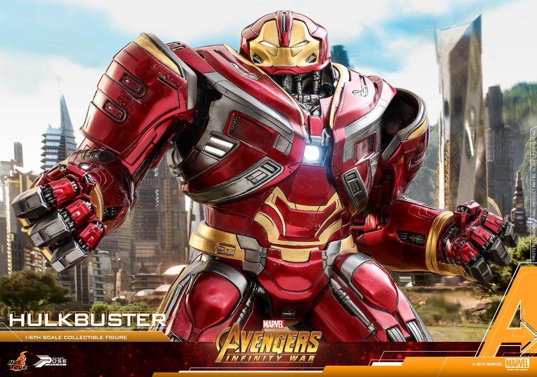 Avengers Infinity War - HulkBuster Mark 2 1/6 (Hot Toys) TtZhRP7m_o