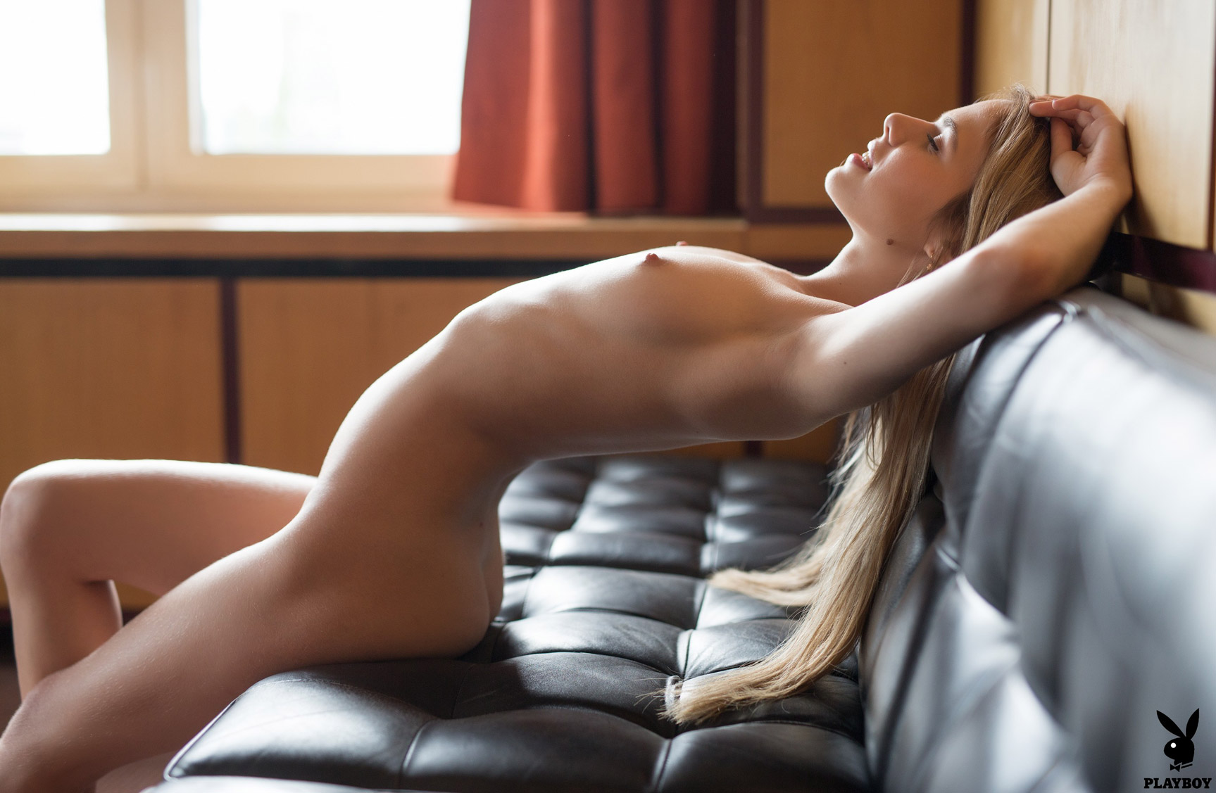 Aleksandra Smelova nude by Henrik Pfeifer / Luxury Lounge - Playboy Plus