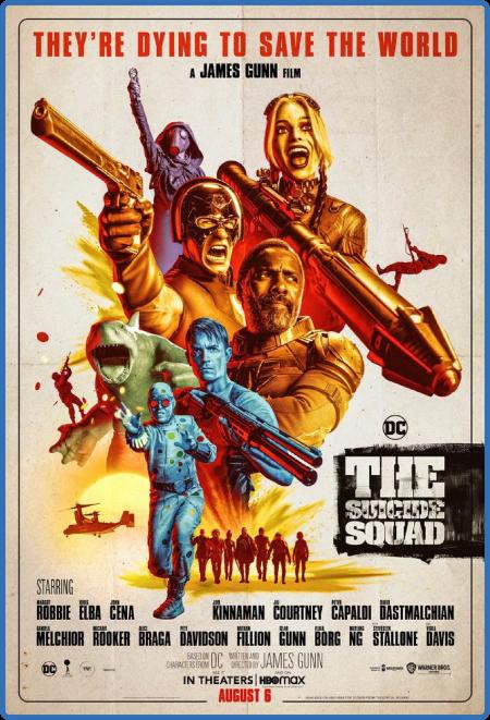 The Suicide Squad 2021 1080p BluRay x265-RARBG