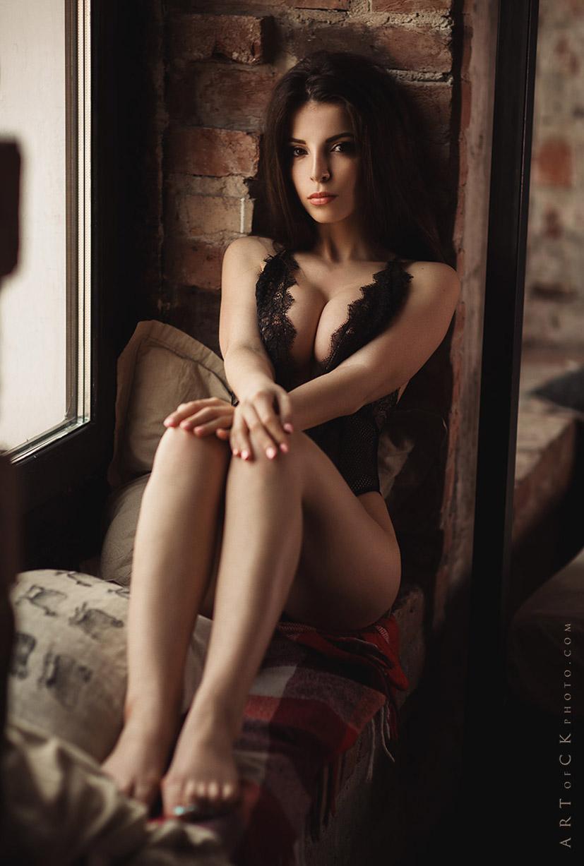 Сексуальная Карина Авакян / Karina Avakyan nude by Stepan Kvardakov