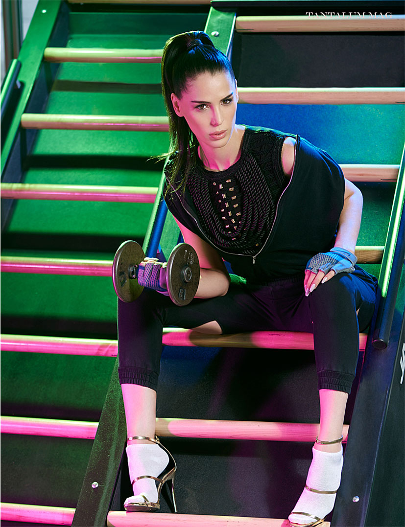 Physical Reaction / Carmen Carrera by Alexandre Paskanoi / Tantalum Magazine april 2017