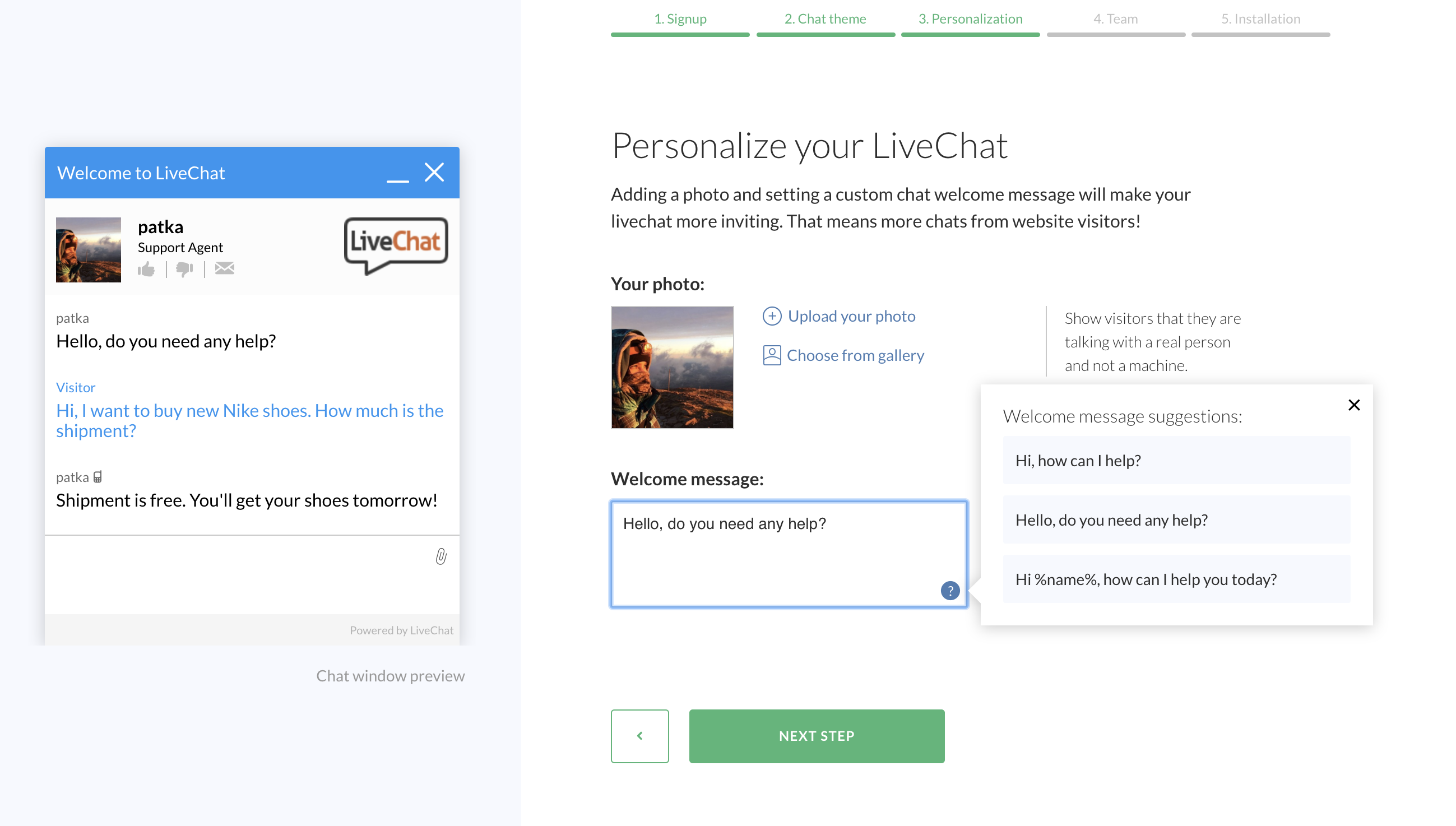 LiveChat Onboarding
