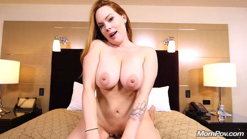 Summer Heart - Perfect Redhead MILF Pornstar - Mom POV [HD]