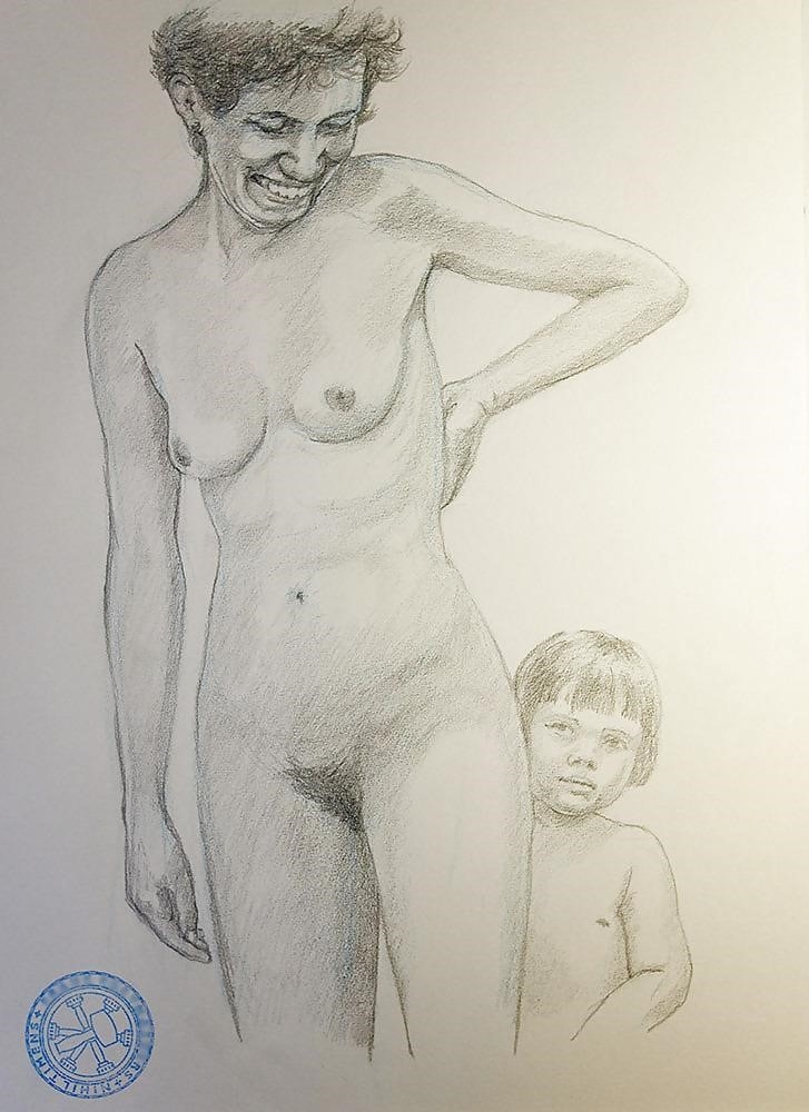 How to draw male nude-8519