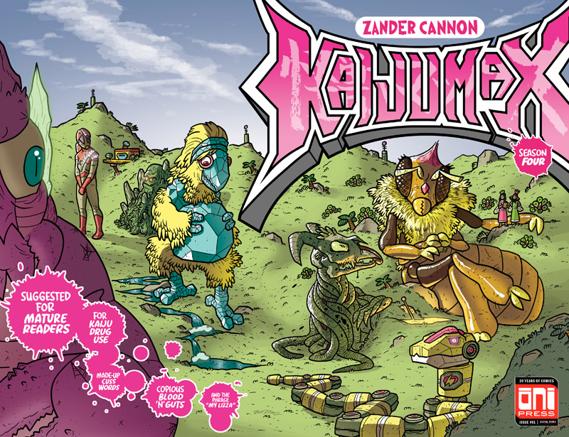 Kaijumax - Season Four #1-3 (2018)