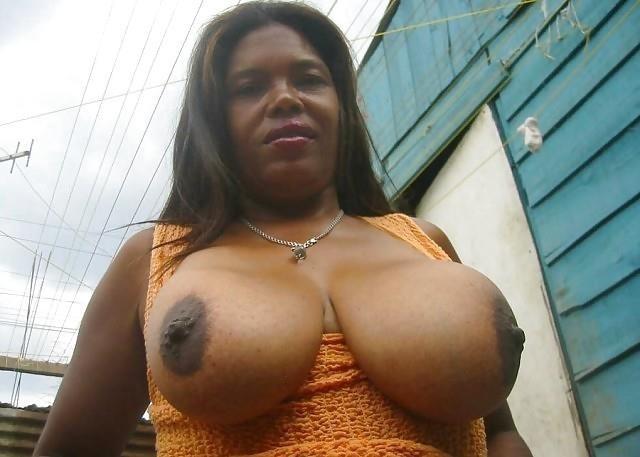Big black tits sex-9193