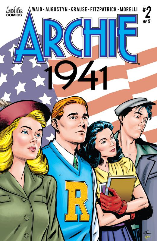 Archie 1941 #1-5 (2018-2019) Complete