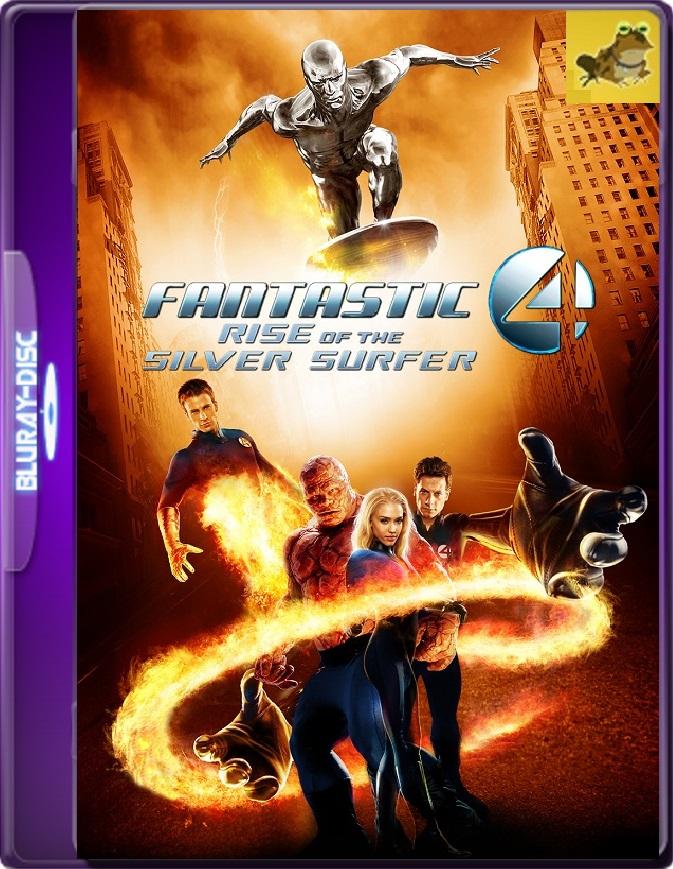 Los Cuatro Fantásticos Y Silver Surfer (2007) Brrip 1080p (60 FPS) Latino / Inglés