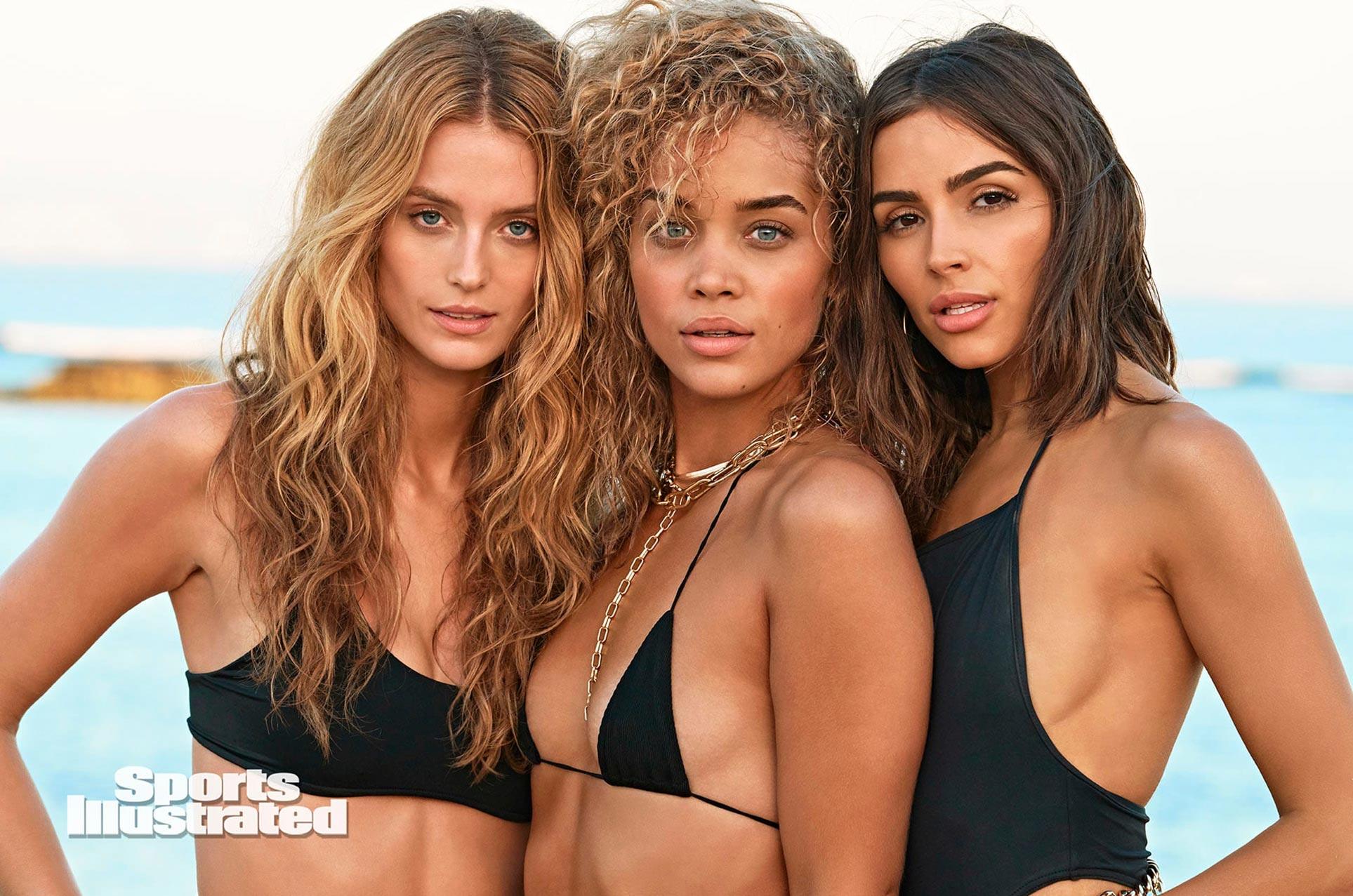 Кейт, Жасмин и Оливия в каталоге купальников Sports Illustrated Swimsuit 2020 / фото 17