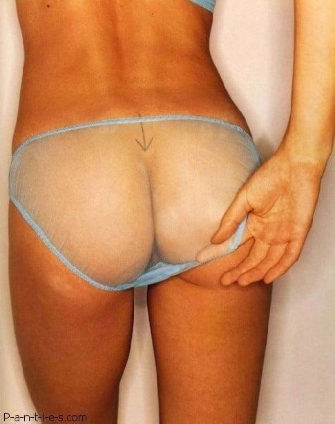 Cunnilingus through panties-8084