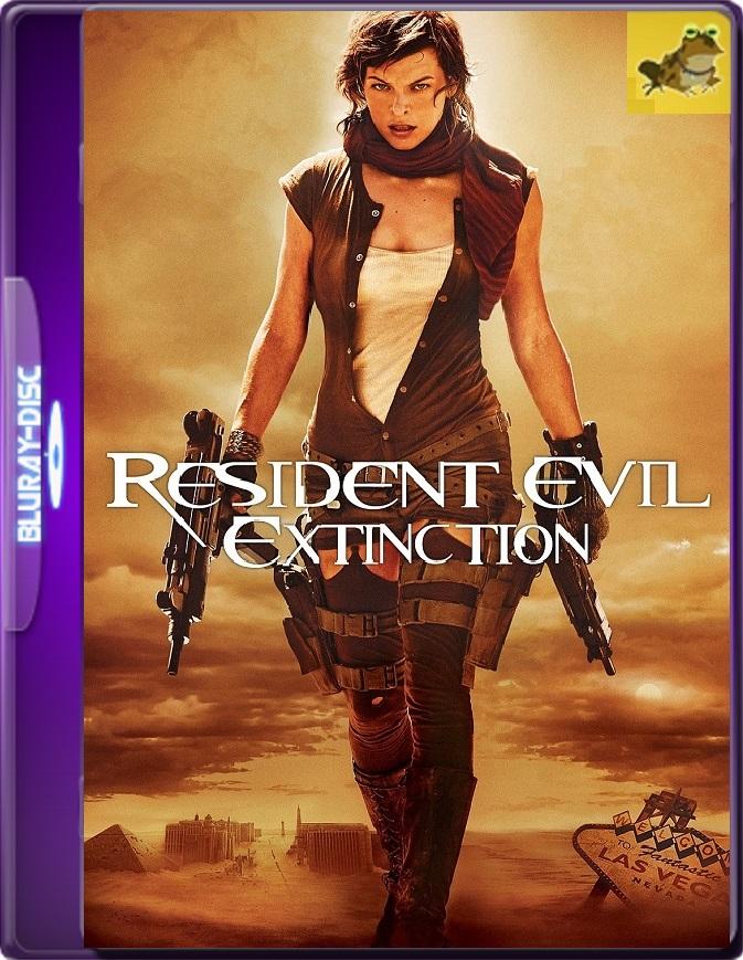 Resident Evil 3: La Extinción (2007) Brrip 1080p (60 FPS) Latino / Inglés