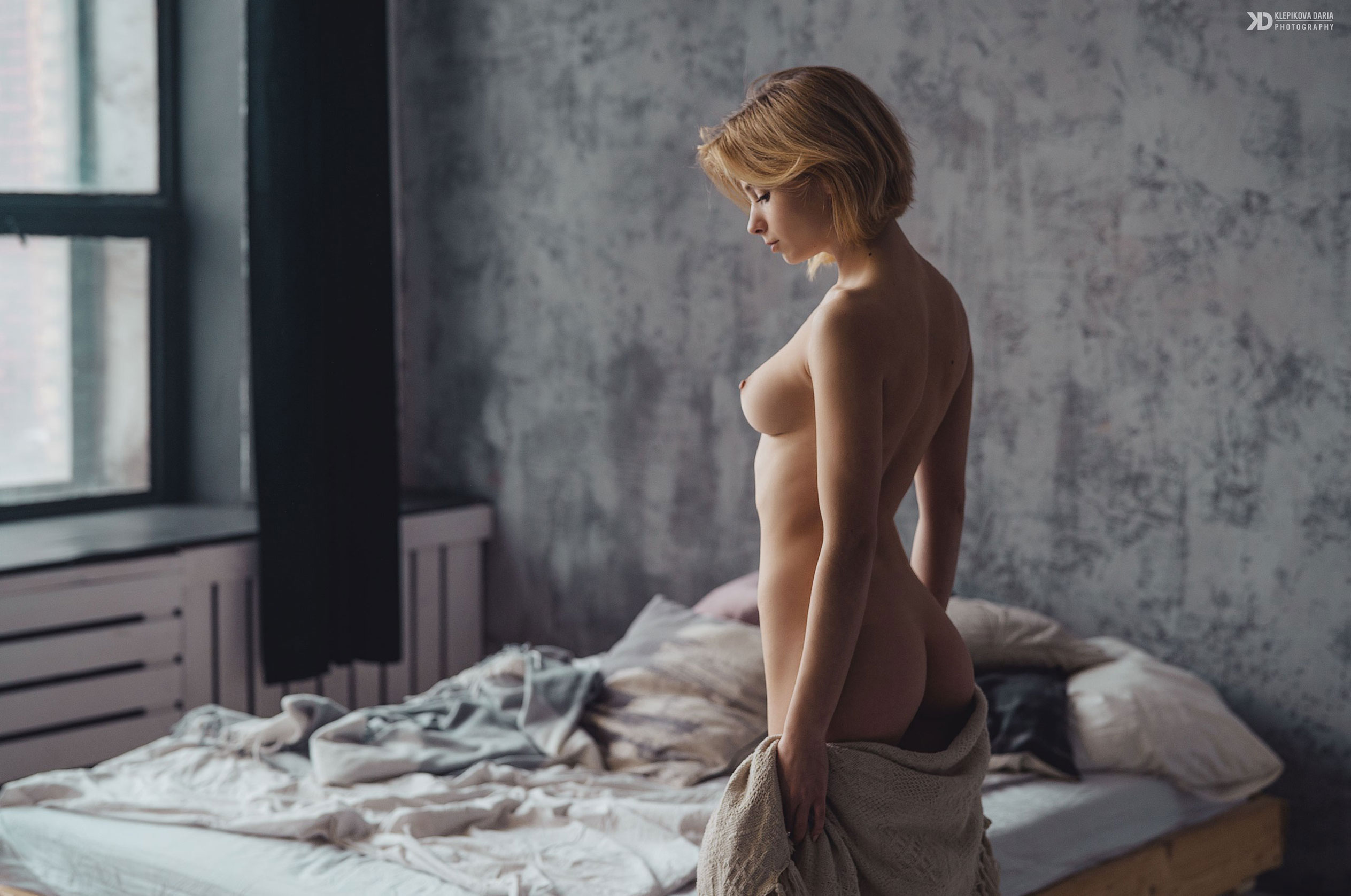 Marta Gromova nude by Daria Klepikova