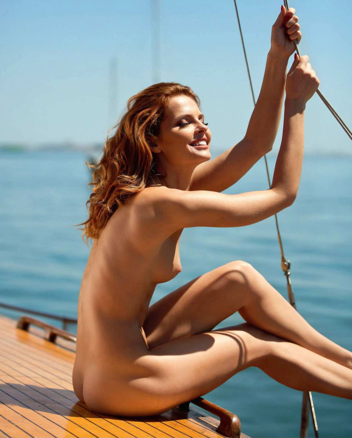Playmate of the Month of July / Valeria Lakhina nude by Ana Dias - Playboy USA july/august 2018