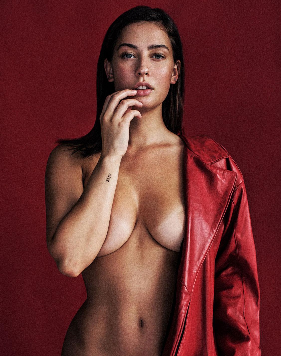 Red / Olivia Norella by Cory Vanderploeg / Yume Magazine